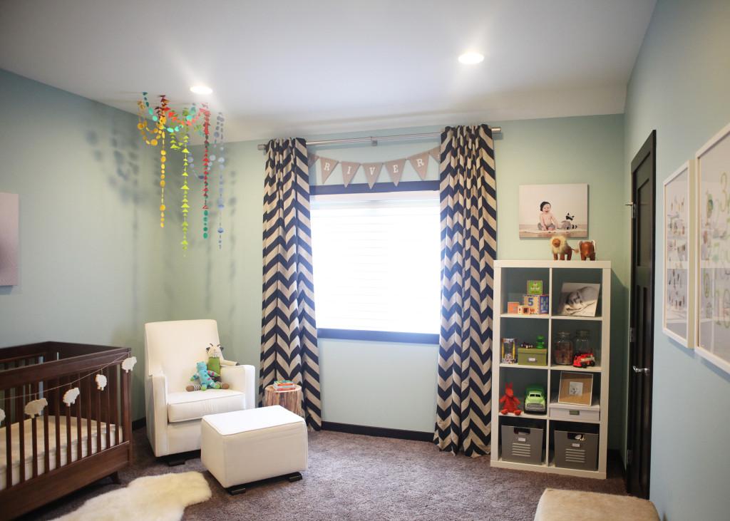 8 Rustic Modern Girl Nursery Room View