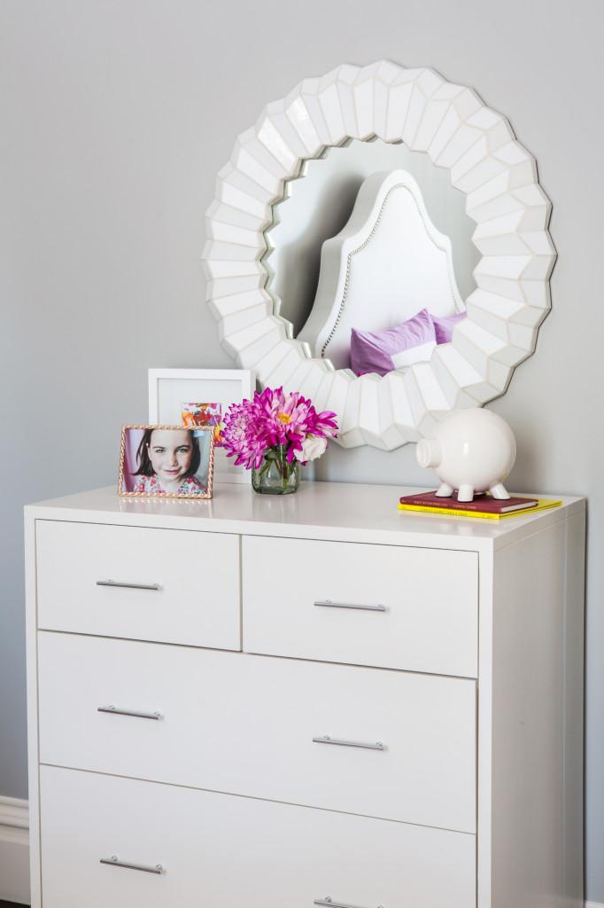 White Modern Dresser