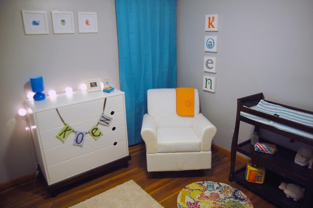 Gender-Neutral Nursery Room View