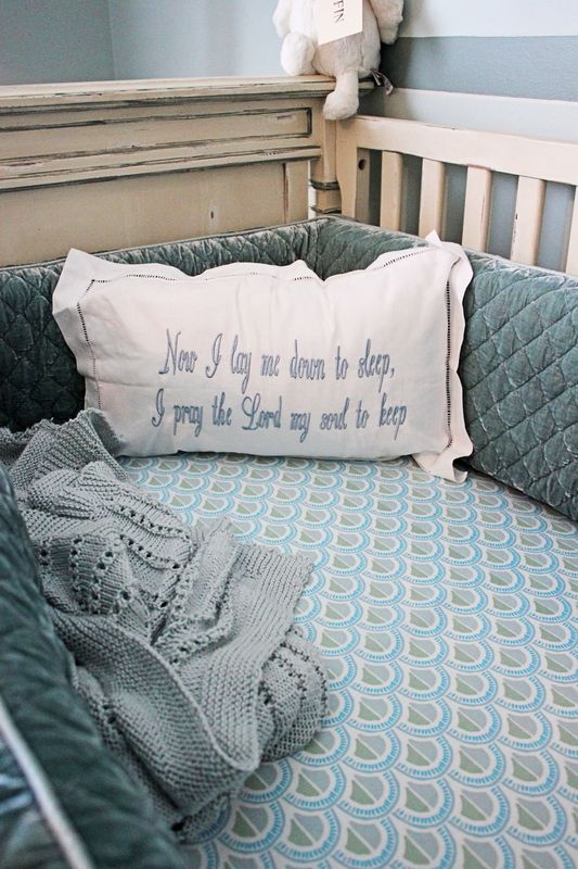 Classic Storybook Nursery Crib View
