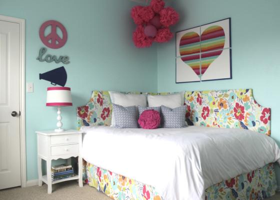 Pool Blue Girl's Bedroom - Project Nursery