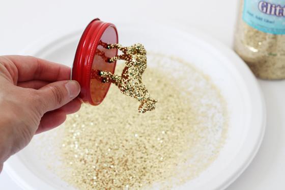 Glitter Animal Jar Top - Project Nursery