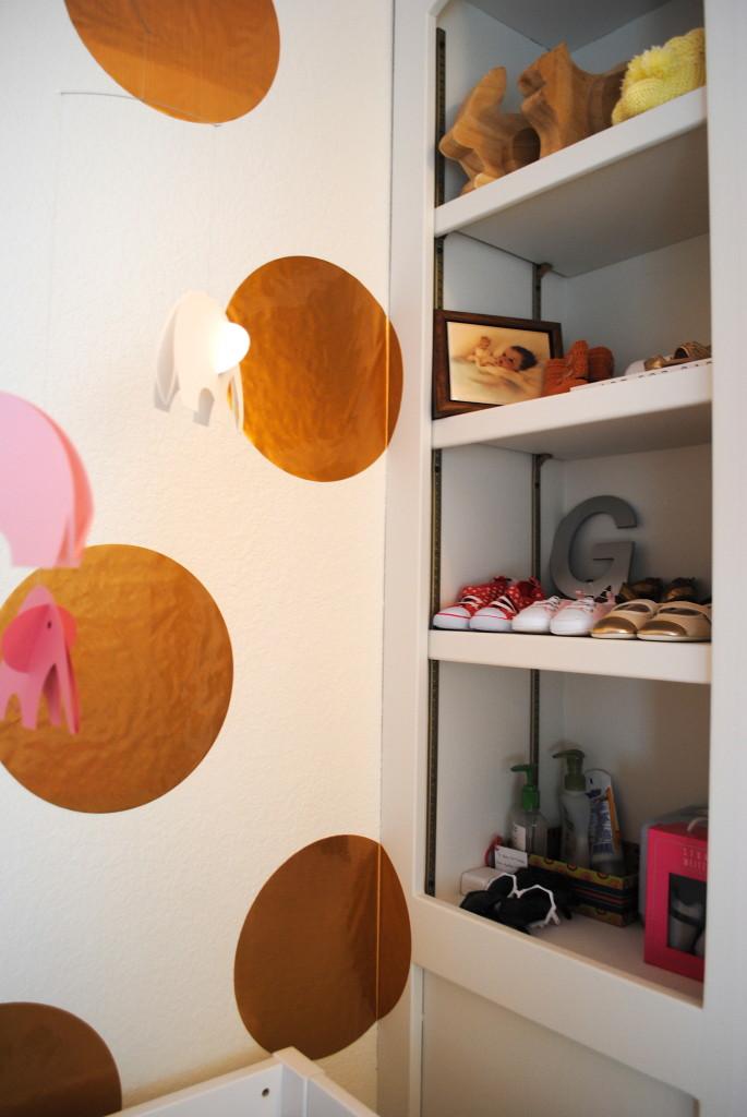 Girly Glam Polka Dot Room
