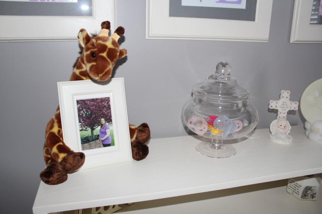Lavender Girl Nursery Apothecary Jar