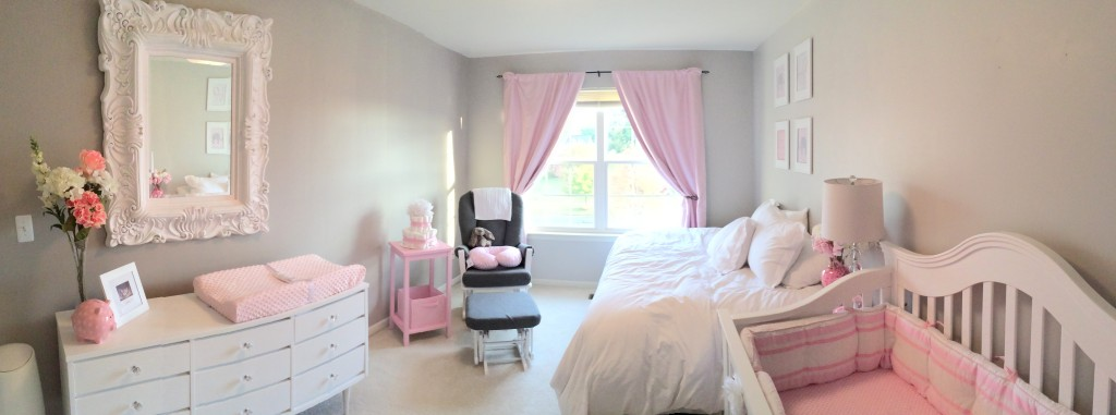 Elegant Pink Amp Grey Nursery Project Nursery