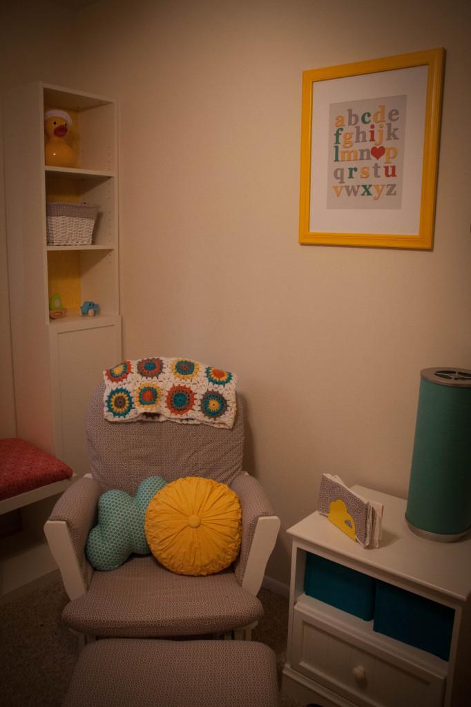 Alphabet Wall Art for Nursery