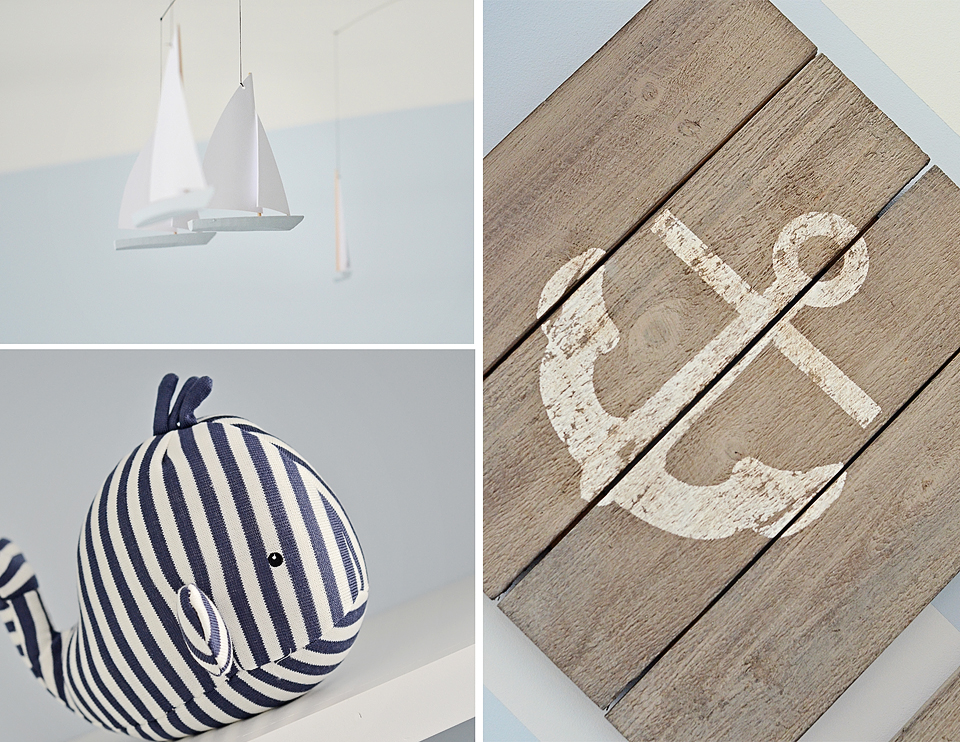 Rustic Wood-Plank Nautical Wall Art