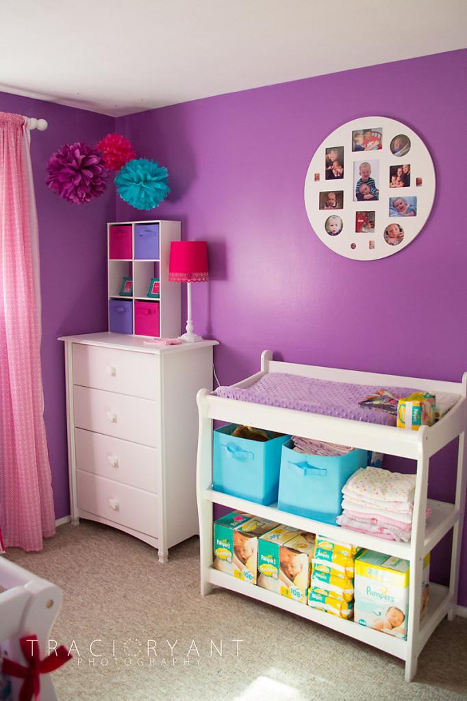 Girly Chevron And Polka Dots Project Nursery