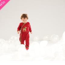 Reindeer Christmas Pajamas from Le Top