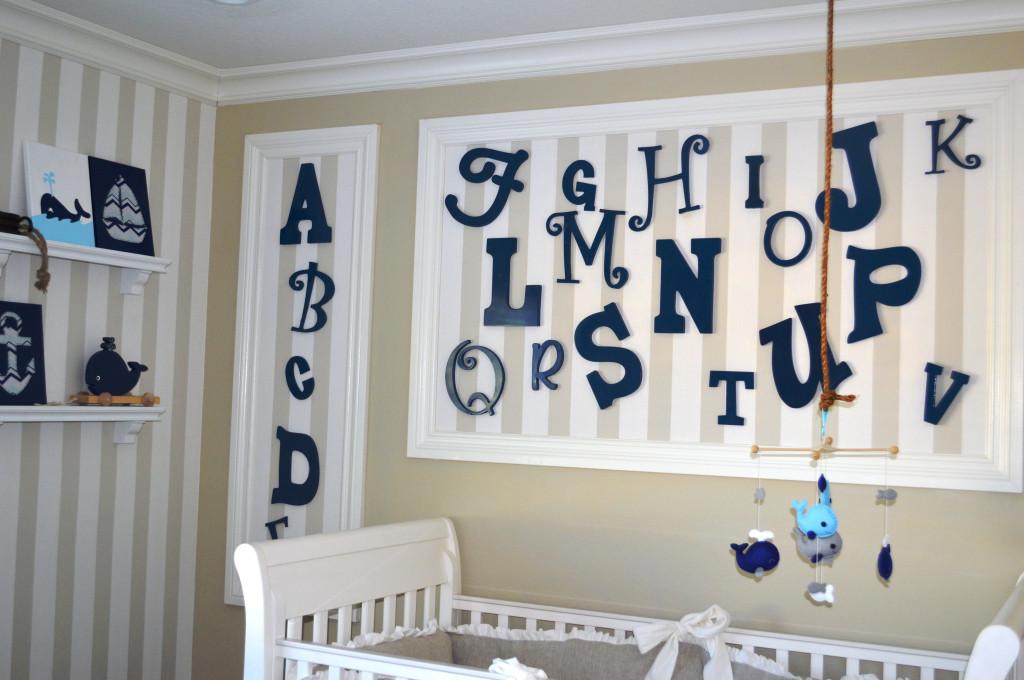 Alphabet Nursery Wall