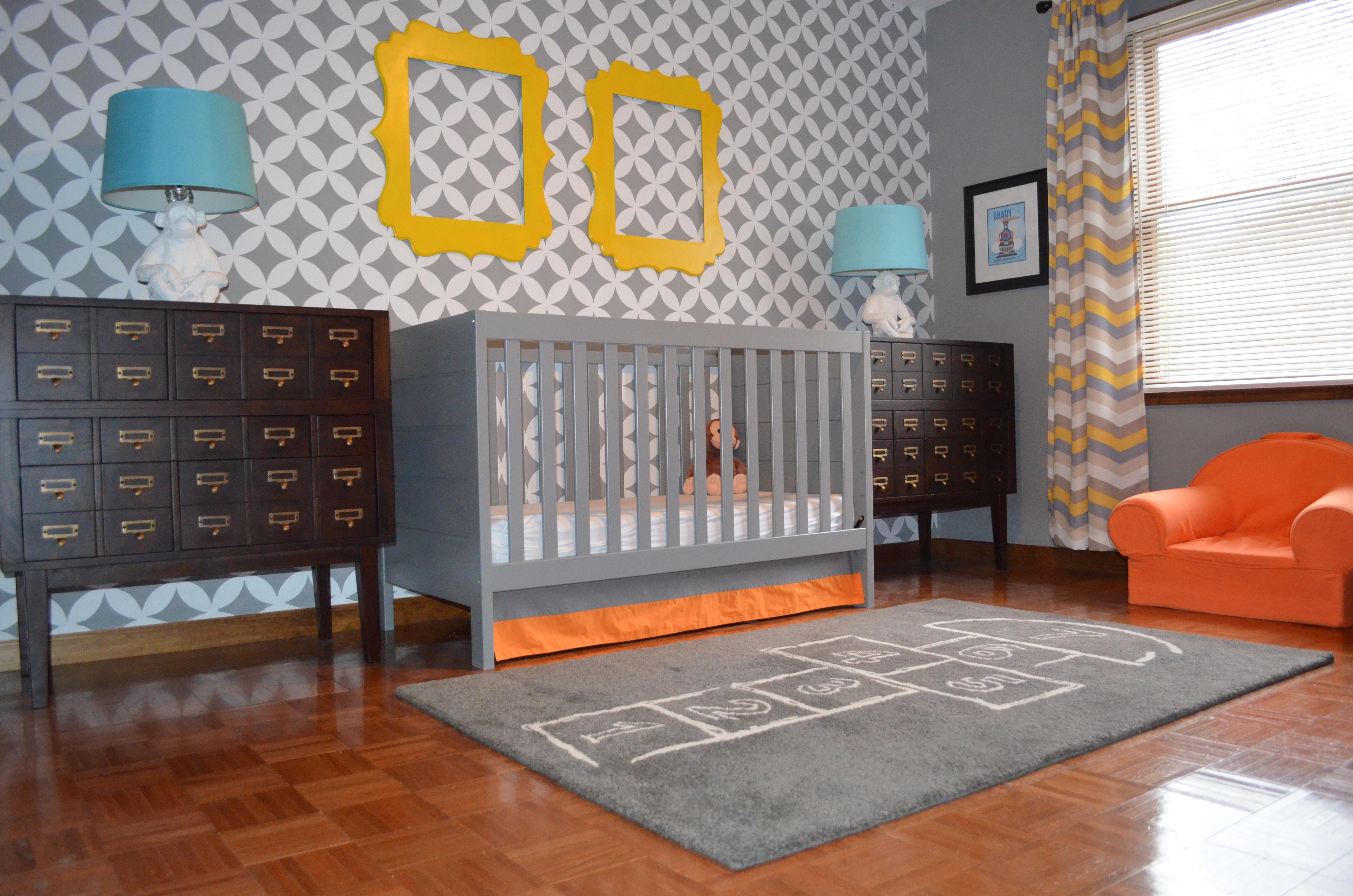 Daddy Designed Nursery