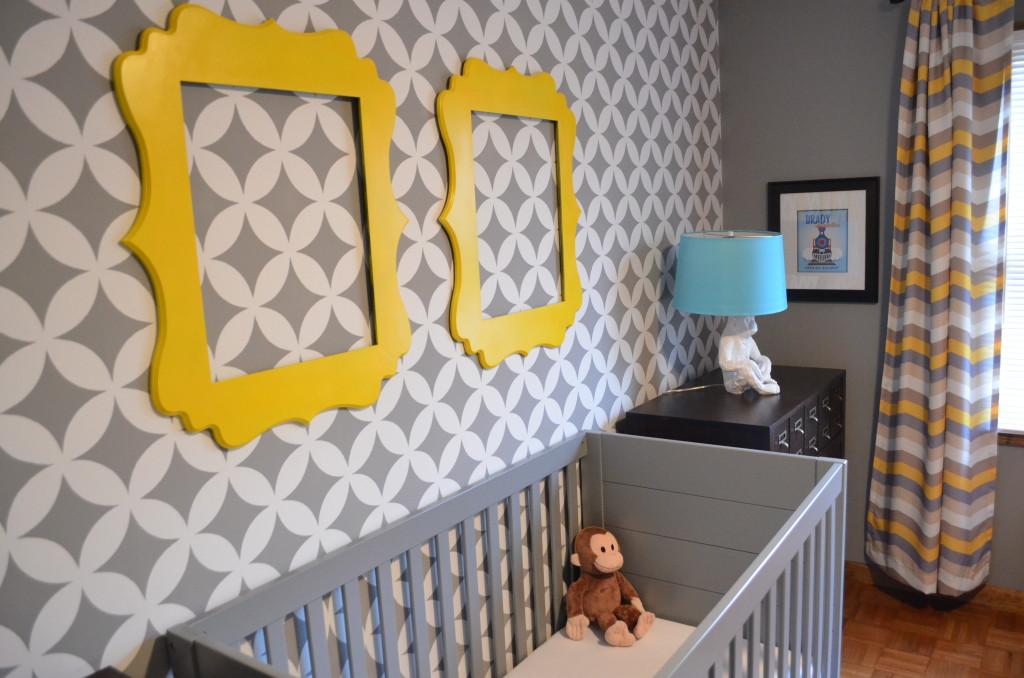 Daddy Designed Nursery Crib View