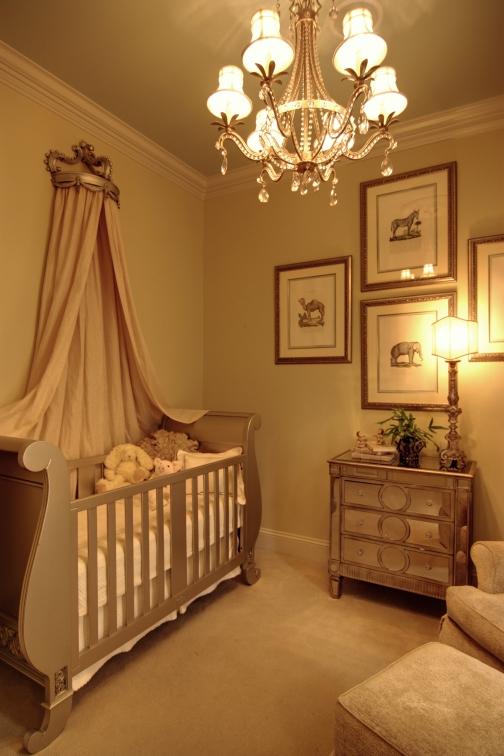 Dark Pink Baby Room