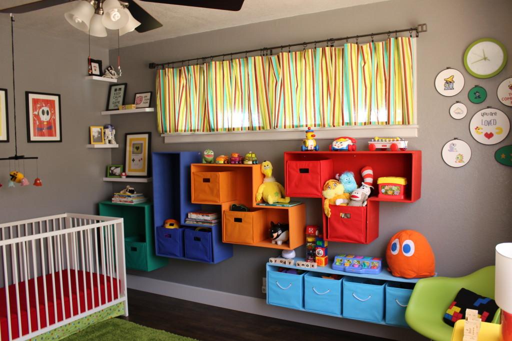 Handmade Tetris Shelves