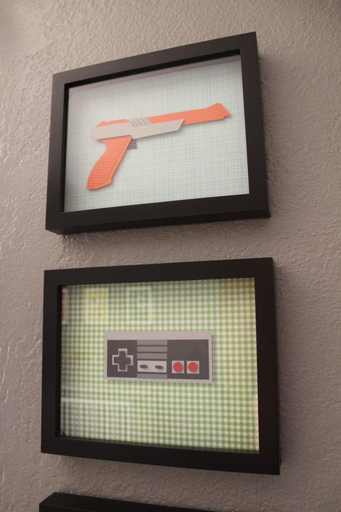 Nintendo Controller Artwork