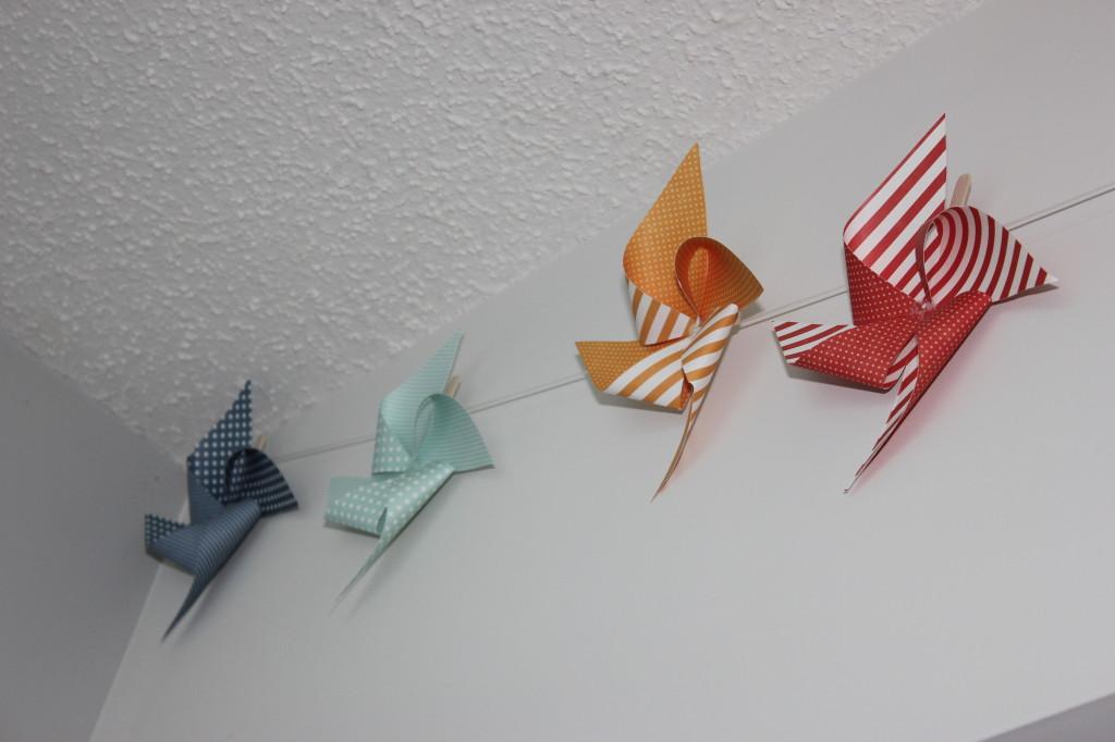 Baby Nursery Pinwheel Art