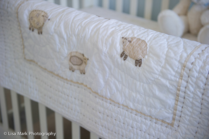 Sweet Lambie Nursery Bedding from Pottery Barn Kids