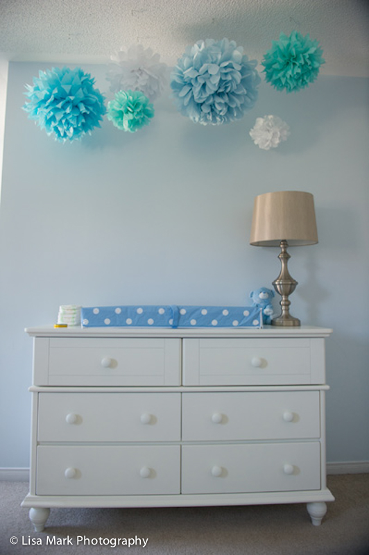 White Chelsea Double Dresser from Natart Juvenile