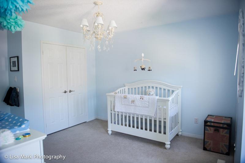 Classic British Baby Blue Nursery