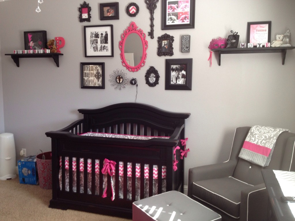 Pink And Grey Nursery Project Nursery