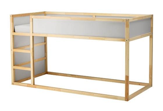IKEA KURA Reversible Bed - Project Nursery