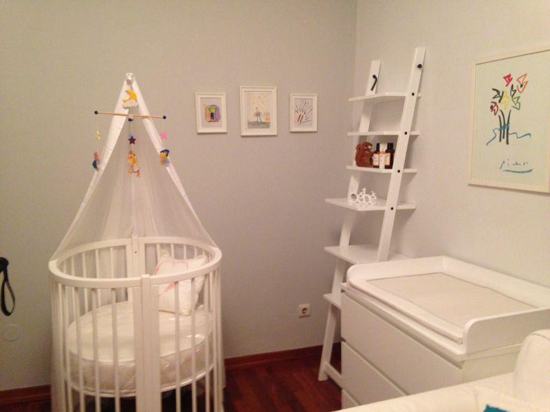 White Baby Crib Grow
