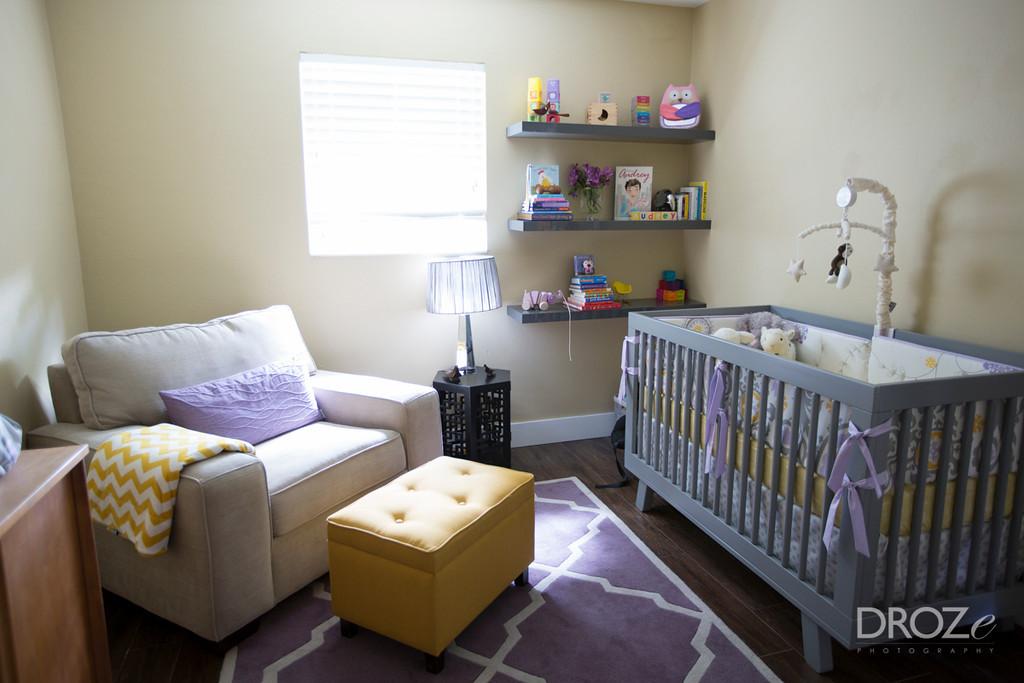 Sweet Lavender Mustard Nursery Project Nursery