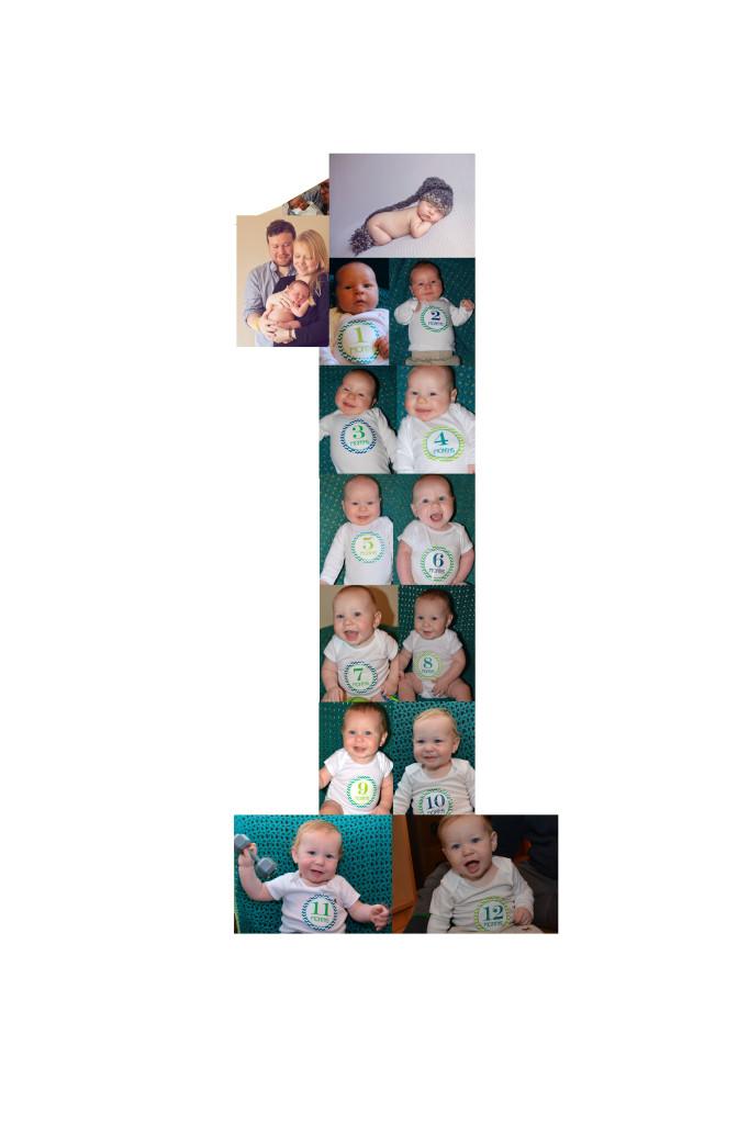 DIY 1 Photo Collage