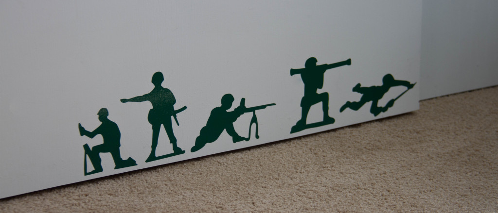 Army Men Wall Decal