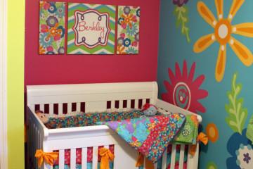 Whimsical Flower Nursery