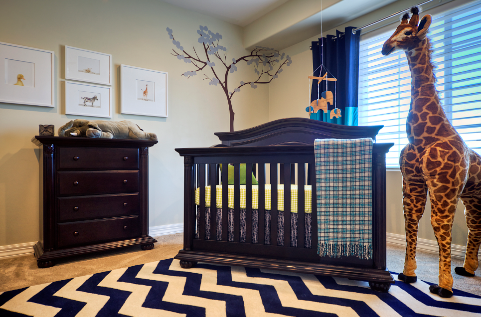 Baby Boy Blue Nursery Project