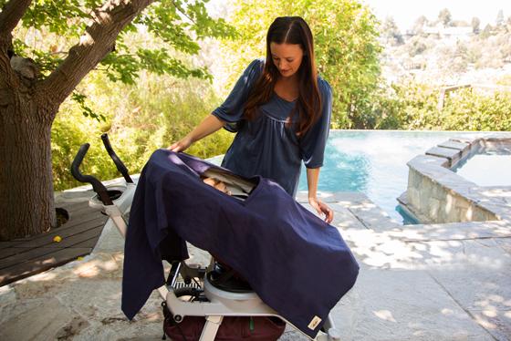 Poncho Baby Nursing Cover for Stroller