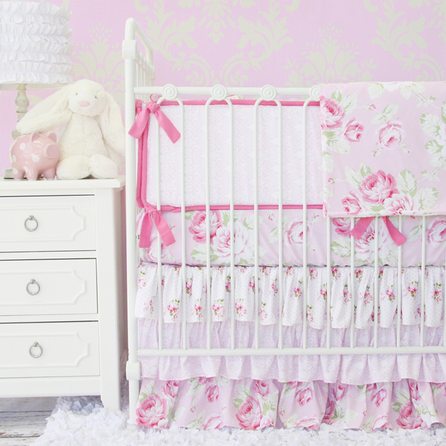 10 Shabby Chic Nursery Design Ideas: Shabby Chic Nursery Style