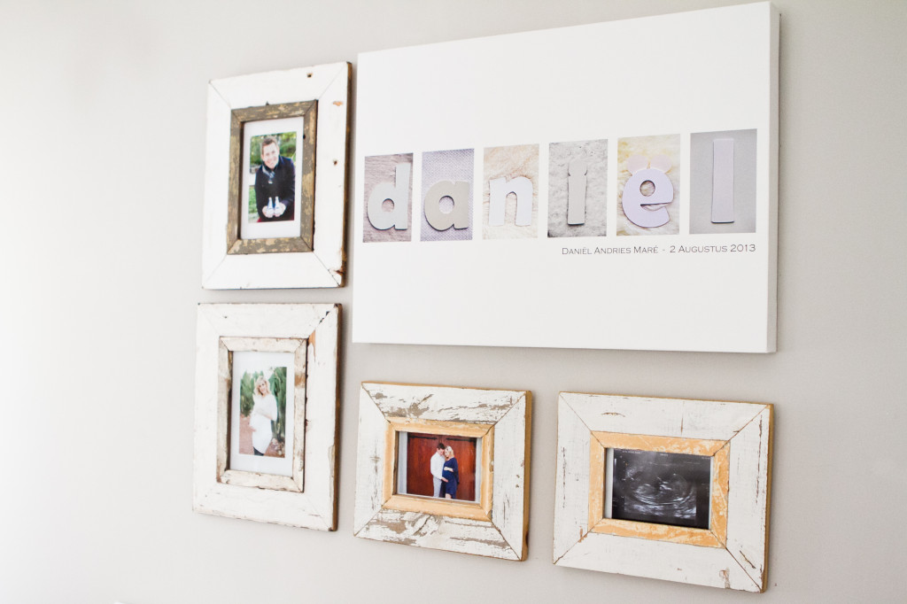 Distressed Photo Frames