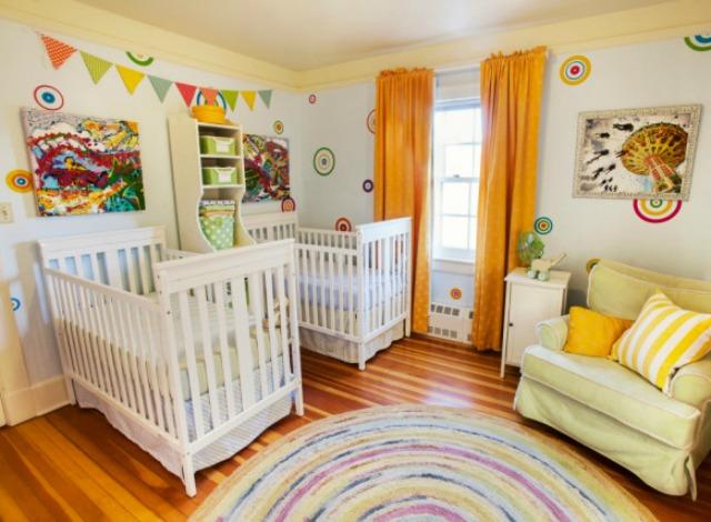 Genevieve Weeks Carnival Themed Twin Nursery Project