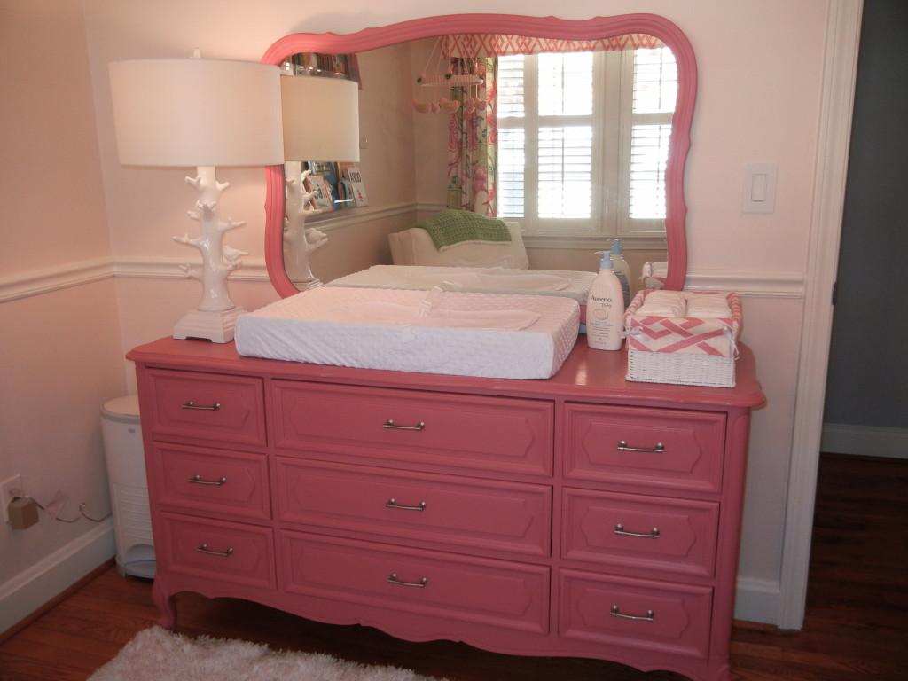Vintage Dresser Repainted with Annie Sloan's Chalk Paint