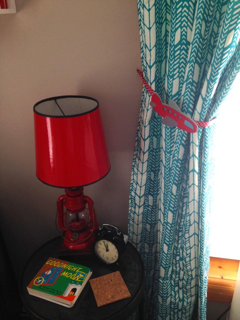 Red Lantern Lamp