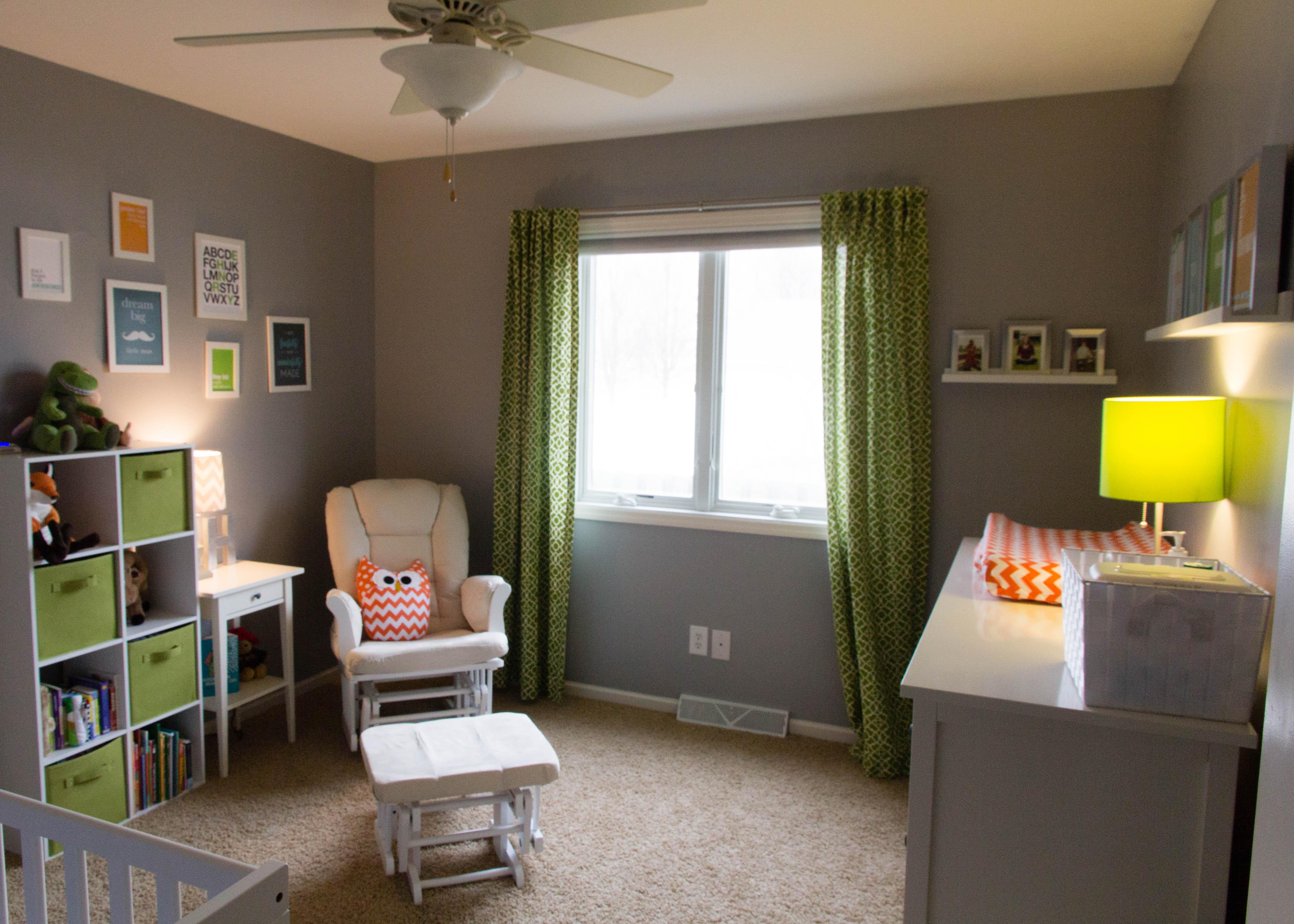 Simple and Modern Nursery