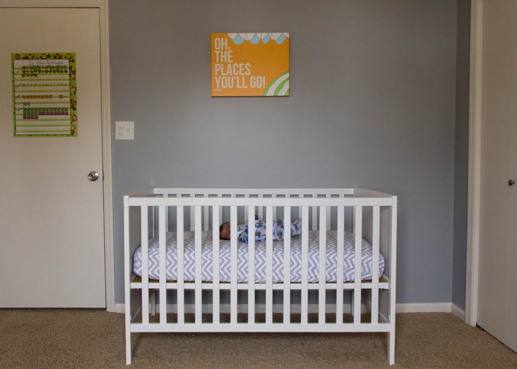 IKEA SUNDVIK White Crib