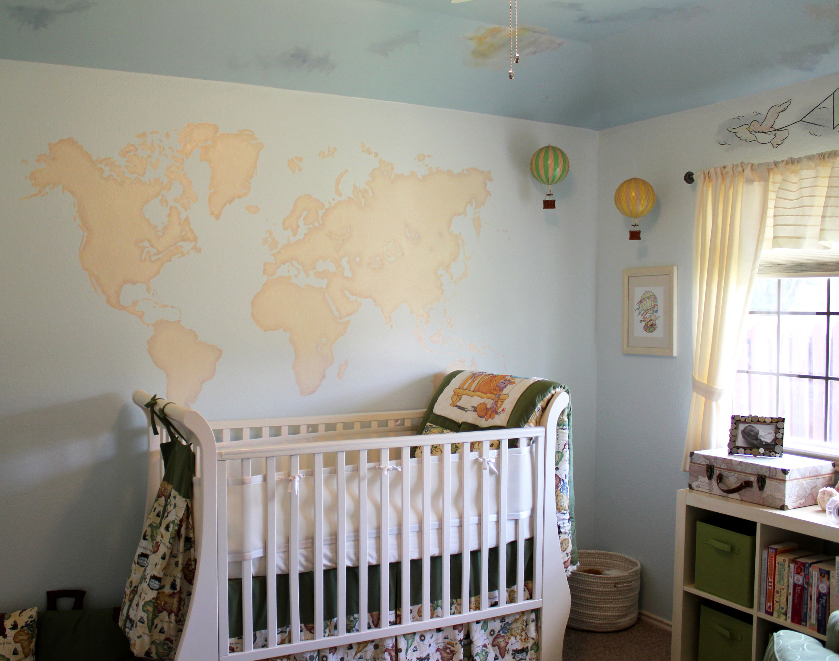 Baby Boy Nursery Tour: Travel Themed Gender Neutral Nursery