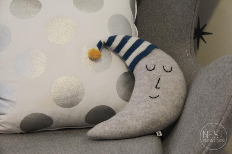 Moon Shaped Pillow