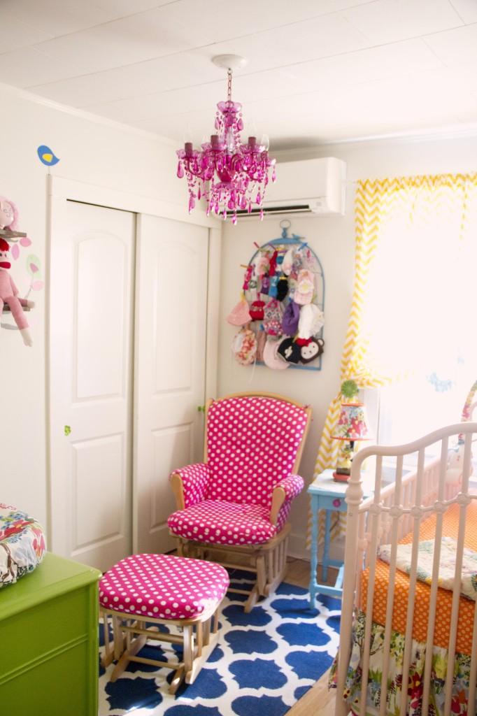 Bright Colored Nursery