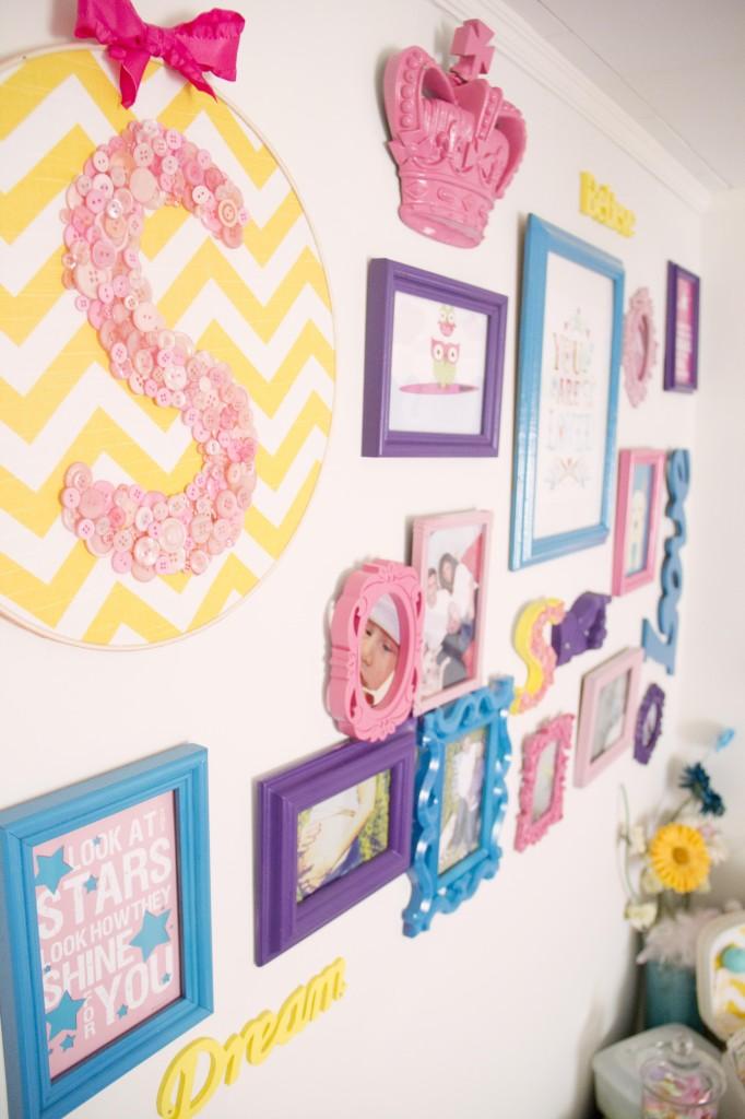 Bright Nursery Wall Gallery