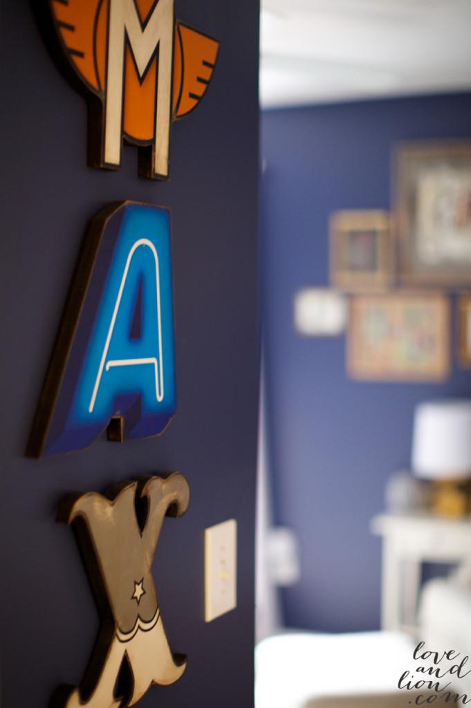 Nursery Wall Letters