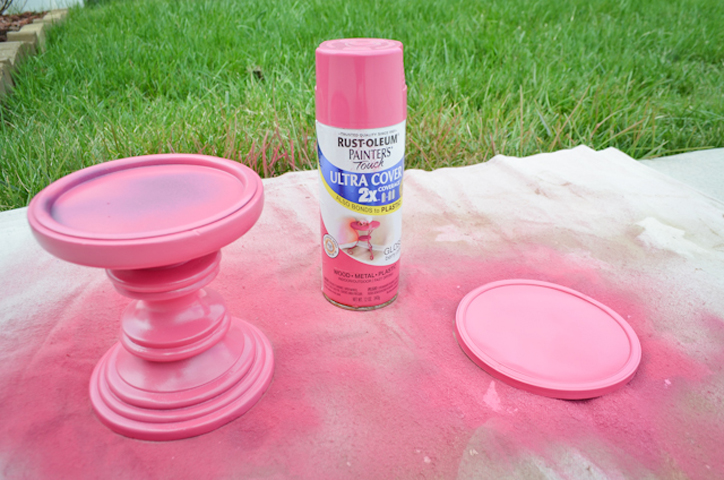 Hot Pink Spray Paint