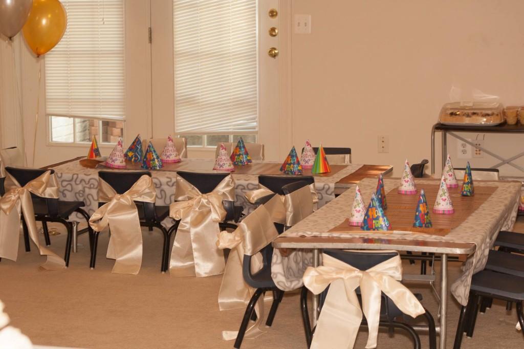 Kid's Birthday Table