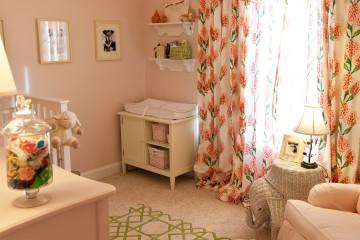 Pink Nursery Decor