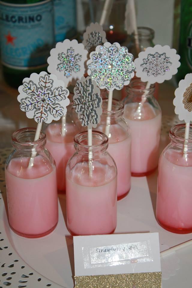 Winter ONEderland Strawberry Milk