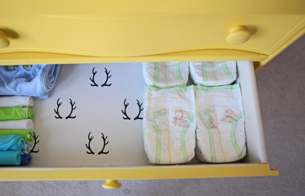 Lined Dresser Drawers