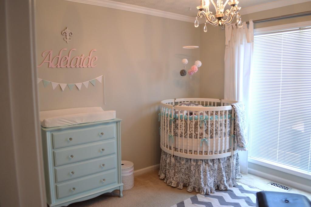 Sweet Vintage Baby Nursery